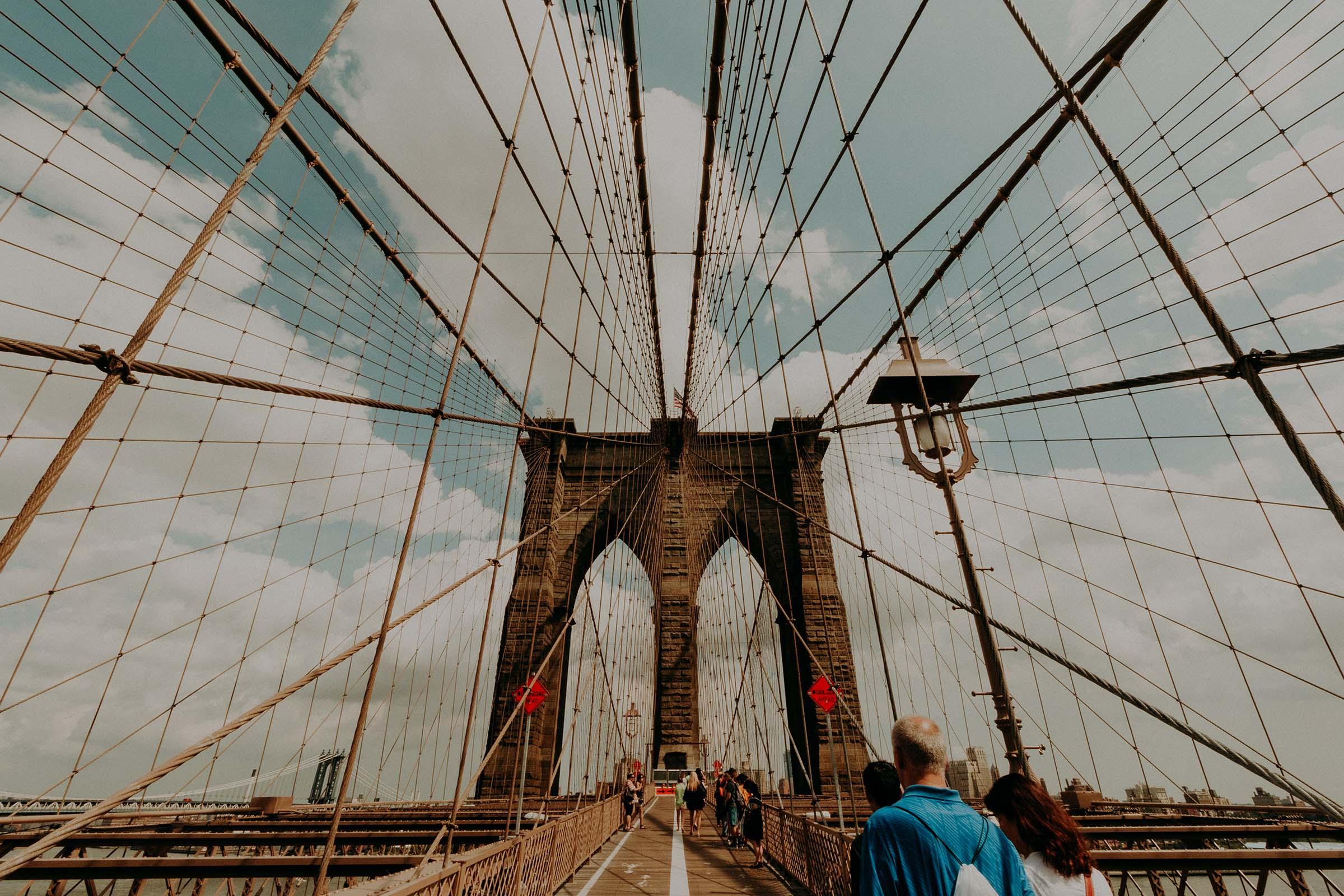 brooklyn bridge cable madness