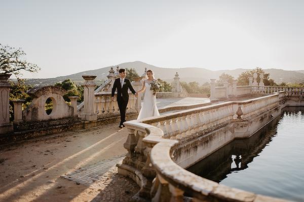 Estoi Palace wedding