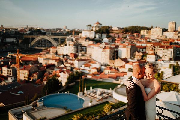 the yeatman wedding view over porto